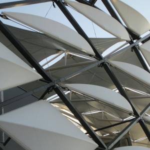تصویر - استادیوم Hazza Bin Zayed , اثر تیم طراحی Pattern Design , امارات متحده عربی - معماری