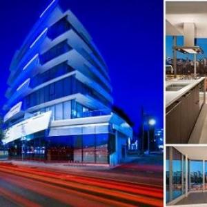 تصویر - پلتفرم فوتوریستی در پروژه تجاری ونکوور - معماری