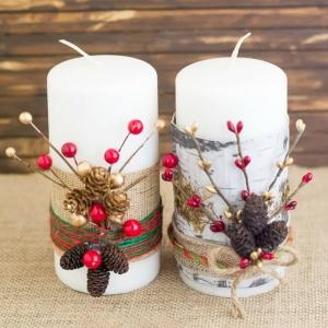عکس - ۳۲ ایده شمع آرایی برای رویایی و صمیمی تر کردن فضای خانه