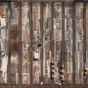 تصویر - دیدپرنده به مرکز فرهنگی Stavros Niarchos، اثر رنزو پیانو - معماری