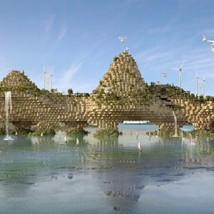 تصویر - کانسپت قرون وسطایی برای طرح بازسازی شهر موصل - معماری