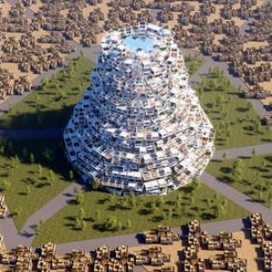 عکس - برج بابل جدید طراحی شد