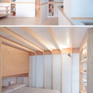 تصویر - طراحی متفاوت آپارتمانی کوچک در Liguria ایتالیا - معماری
