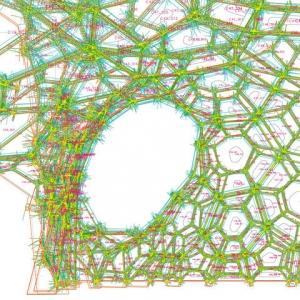 تصویر - پاویون تحقیقات ICD - ITKE دانشگاه اشتوتگارت , اثر تیم طراحی ICD-ITKE University of Stuttgart , آلمان - معماری