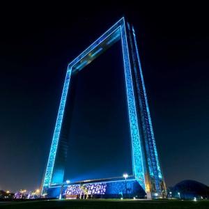 عکس - Dubai Frame , اثر معمار Fernando Donis , امارات متحده عربی