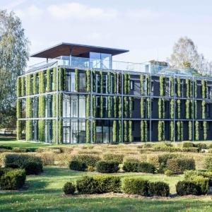 عکس -  آزمایشگاه باغ گیاه شناسی VU , اثر استودیو طراحی Paleko architektu studija , لیتوانی