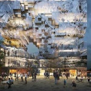 تصویر - ساختمان بازتابدهنده؛ یک یادآوری تاریخی برای سال 2020 - معماری