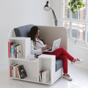 عکس - صندلی Open Book Chair ، اثر استودیو طراحی Design studio TILT