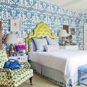 عکس - ایده های طراحی دیوار پشت تختخواب