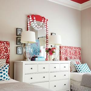 تصویر - ایده های طراحی دیوار پشت تختخواب - معماری