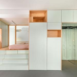 عکس - طراحی خلاقانه آپارتمانی کوچک در مادرید اسپانیا