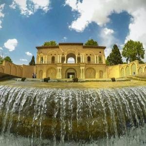 تصویر - معماری شگفتانگیز باغ شاهزاده , نگین سبزی بر انگشتر کویر - معماری