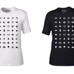 تصویر - تی شرت مسافرتی با 40 آیکون جادویی - معماری