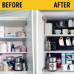 عکس - 18 ایده عالی برای سازماندهی صحیح لوازم در جای خود(قبل و بعد)