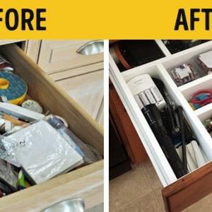 تصویر - 18 ایده عالی برای سازماندهی صحیح لوازم در جای خود(قبل و بعد) - معماری