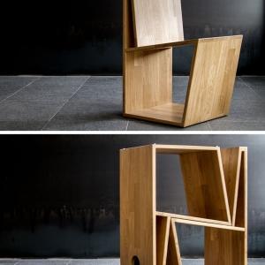 تصویر - نگاهی متفاوت به طراحی صندلی و نگهداری از صندلیهای اضافی  - معماری