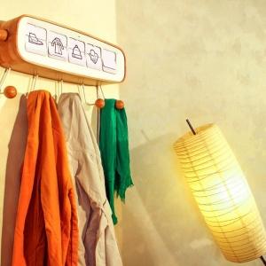عکس - جالباسی هوشمندی که بر اساس پیش بینی آب و هوا ،لباس پیشنهاد می دهد.