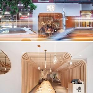 تصویر - طراحی داخلی رستورانی در نیویورک - معماری