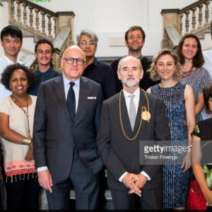 عکس - علیرضا تغابنی از ایران برنده جایزه دورفمن رویال آکادمی لندن ( Royal Academy Of Arts Inaugural Architecture Awards )