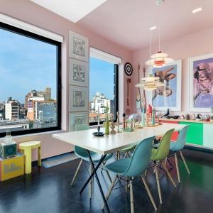 عکس - 10 اتاق مدرن با ترکیبی از رنگهای زنده و جذاب