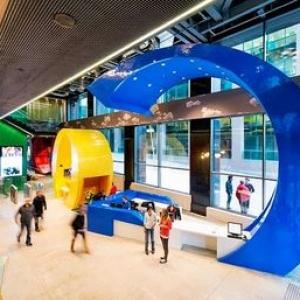 عکس - طراحی انسان محور در کمپانی گوگل , سرزمینی رویایی برای مهندسان