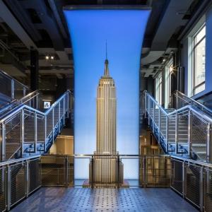 عکس - افتتاح عرشه مشاهده ساختمان امپایر استیت با امکان بازدید عمومی