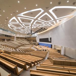 تصویر - مرکز فرهنگی Bujeon Glocal Vision , اثر تیم طراحی Lee Eunseok و Atelier KOMA , HEERIM Architects و Planners , کره جنوبی - معماری