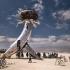 عکس - بهترین آثار هنری جشنواره Burning Man در سال 2018