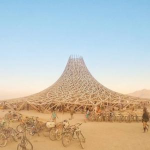 تصویر - بهترین آثار هنری جشنواره Burning Man در سال 2018 - معماری