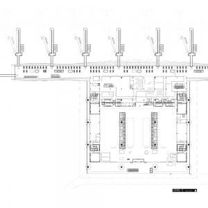 تصویر - فرودگاهها:نمونه هایی در پلان و مقطع - معماری