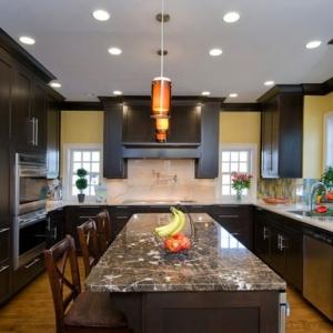 تصویر - 15 نمونه آشپزخانه U شکل - معماری