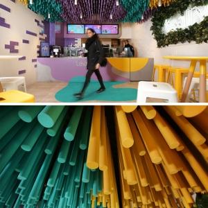 تصویر - فروشگاه چای حباب دار (bubble tea) - معماری