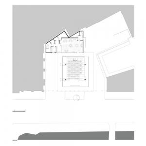 تصویر - سینماها و سالنهای تئاتر در پلان و مقطع - معماری