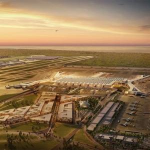 عکس - فرودگاه Istanbul Yeni Havalimanı , بزرگترین فردوگاه دنیا , اثر تیم معماری Grimshaw , ترکیه