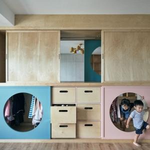 عکس - ایده ای برای طراحی اتاق خواب کودک