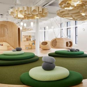 عکس - ایده های طراحی مدرسه ابتدایی WeGrow در نیویورک