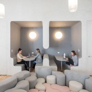تصویر - ایده های طراحی مدرسه ابتدایی WeGrow در نیویورک - معماری