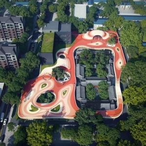 تصویر - طراحی صورت گرفته توسط شرکت MAD برای حیاط مهدکودک - معماری