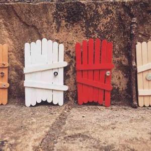 تصویر - ساختن در خانه های مینیاتوری - معماری