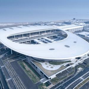 عکس - بندرگاه پل Hong Kong-Zhuhai-Macao , اثر تیم طراجی معماری ECADI , هنگ کنگ