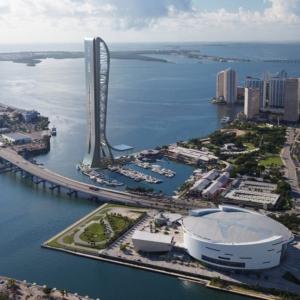 عکس - SkyRise Vertical Theme Park , اثر تیم طراحی معماری Arquitectonica , آمریکا
