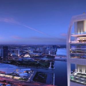 تصویر - SkyRise Vertical Theme Park , اثر تیم طراحی معماری Arquitectonica , آمریکا - معماری