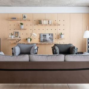 عکس - نمای متغیر دیوار در آپارتمانی در پاریس