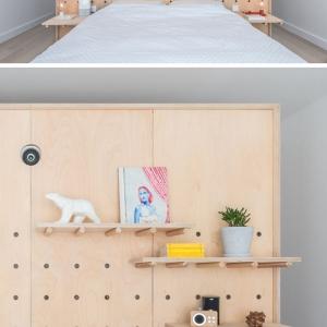 تصویر - نمای متغیر دیوار در آپارتمانی در پاریس - معماری