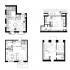 عکس - 26 نمونه موردی کاربردی از آپارتمانهایی با مساحت کمتر از 50 متر مربع