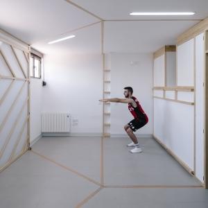 تصویر - 26 نمونه موردی کاربردی از آپارتمانهایی با مساحت کمتر از 50 متر مربع - معماری