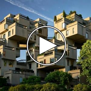 عکس - Moshe Safdie on his iconic Habitat 67