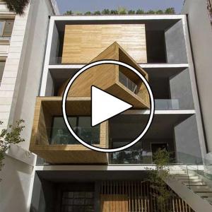 تصویر - گزارش CNN از خانه ای با معماری شگفت انگیز در قلب تهران ( خانه شریفی ها ) - معماری