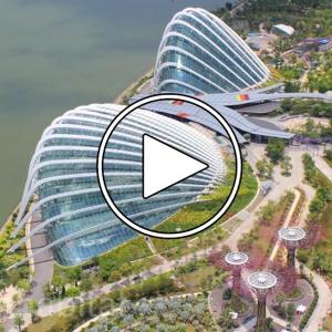 عکس - Wilkinson Eyre s award winning Gardens by the Bay in Singapore