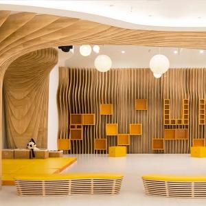 تصویر - مرکز هنرهای نمایشی کودکان Umi-Play , اثر گروه معماری AntiStatics , چین - معماری